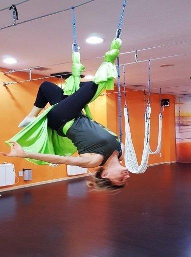 Pilates Aéreo en Zaragoza - Centro Daniela Goitre